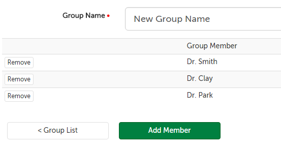 New Group Name